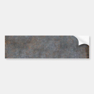 Classic Distressed Leather Antique Book Cover Bumper Sticker