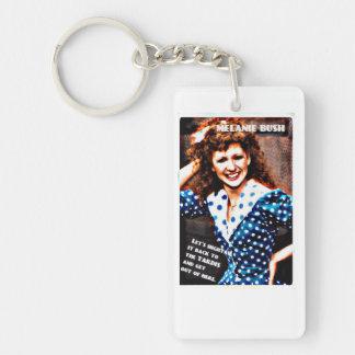 Classic Doctor Who. Single-Sided Rectangular Acrylic Keychain