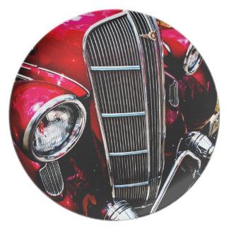 Classic Dodge Brothers Sedan Dinner Plate