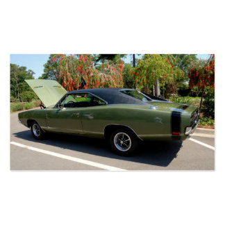 Classic Dodge Charger Business Card