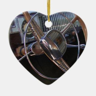 Classic Dodge dashboard. Ceramic Ornament