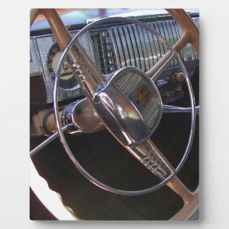 Classic Dodge dashboard. Plaque