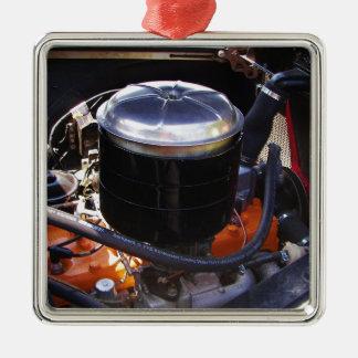 Classic Dodge Engine Bay. Metal Ornament