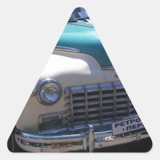 Classic Dodge. Triangle Sticker