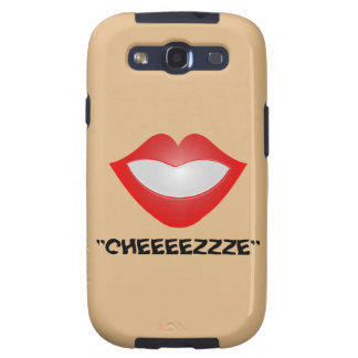 Classic Doll Face Smile Reminder Galaxy S3 Cases