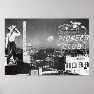 Classic Downtown Las Vegas Posters