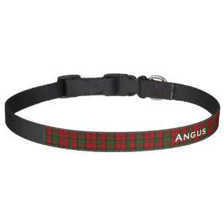 Classic Dunbar Tartan Plaid Custom Dog Collar
