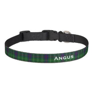 Classic Duncan Tartan Plaid Custom Dog Collar
