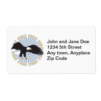 Classic Eagle Shipping Label