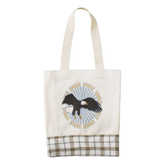 Classic Eagle Zazzle HEART Tote Bag