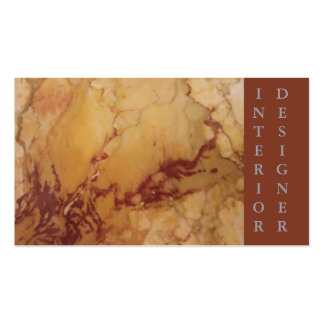 Classic Elegance Luxury Tan Brown Marble Stone Business Card