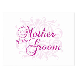 Classic Elegance Mother of the Groom Shirt Postcard