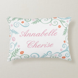 Classic Elegance Personalized Pillow