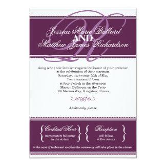 Classic Elegance Wedding Invitation