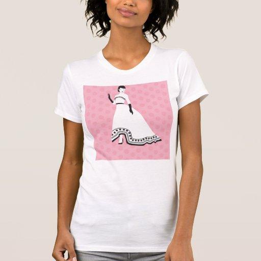 Classic Elegant Girl Tee Shirt
