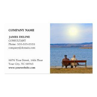 Classic Elegant Insurance Consultant Business Card