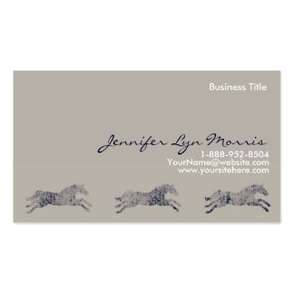 Classic Equestrian Business Cards