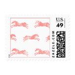 Classic Equestrian pink Stamp
