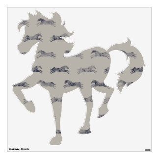 Classic Equestrian Wall Decal