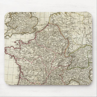 Classic European Map Mouse Pad