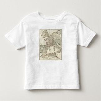 Classic European Map Toddler T-shirt
