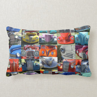 Classic Faces Throw Pillow