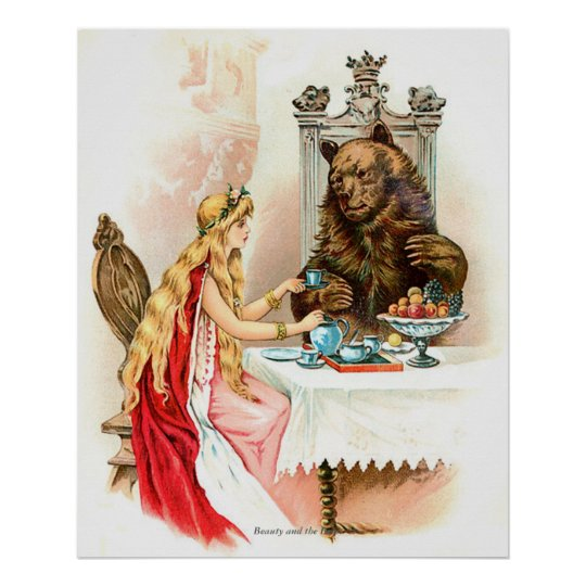 Classic Fairy Tales - Beauty and the Beast Poster