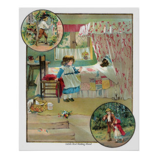 Classic Fairy Tales - Little Red Riding Hood Poster