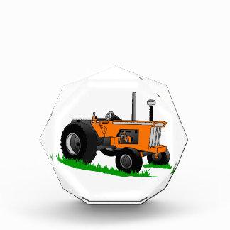 Classic Farm Tractor Acrylic Award