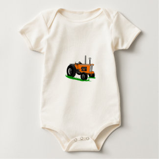Classic Farm Tractor Baby Bodysuit