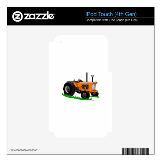 Classic Farm Tractor iPod Touch 4G Decals