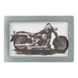 Classic Fat Boy Motorcycle Belt Buckle