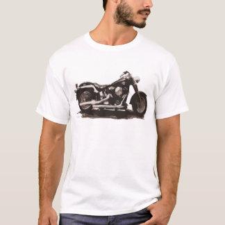 Classic Fat Boy Motorcycle T-Shirt