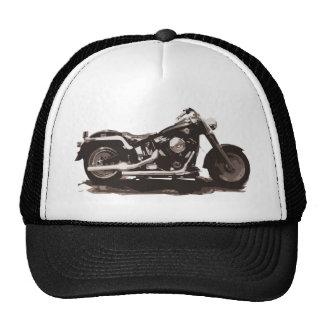 Classic Fat Boy Motorcycle Trucker Hat