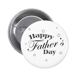 Classic Father's Day Button