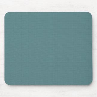 Classic Faux Linen Smalt Blue Mouse Pad