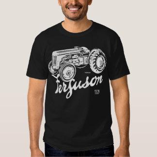 Classic Ferguson TE20 script and illustration Tee Shirt