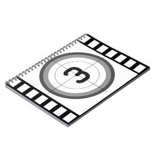 CLASSIC FILM FRAME COUNTDOWN Photo Notebook