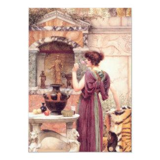 Classic Fine Art Woman Card