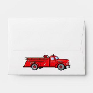 Classic Fire Engine Envelopes