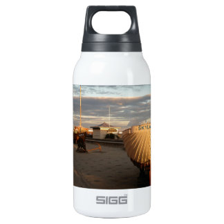 Classic Fishing Boats Insulated Water Bottle
