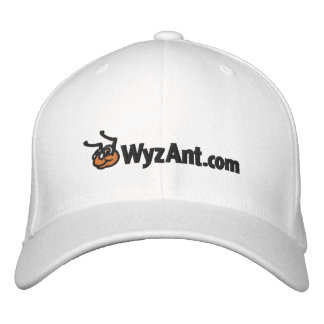 Classic Fitted WyzAnt Logo Wool Hat Embroidered Baseball Caps