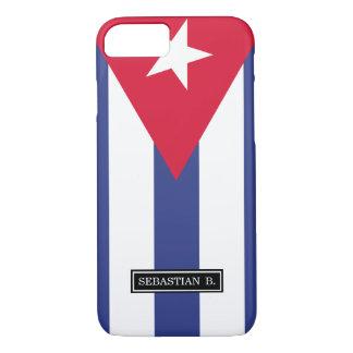 Classic Flag of Cuba iPhone 7 Case