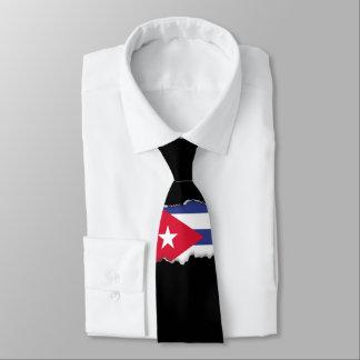 Classic Flag of Cuba Neck Tie