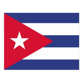 Classic Flag of Cuba Postcard