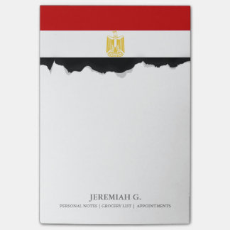Classic Flag of Egypt Post-it Notes