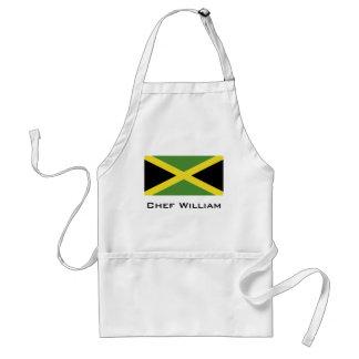 Classic Flag of Jamaica Adult Apron