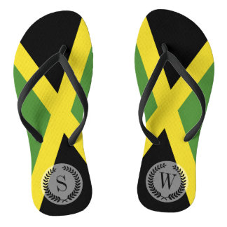 Womens jamaican flag shoes sneakers zazzle classic flag of jamaica flip flops voltagebd Gallery