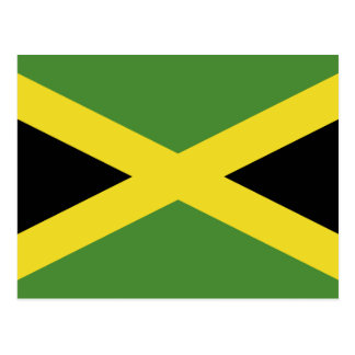 Classic Flag of Jamaica Postcard