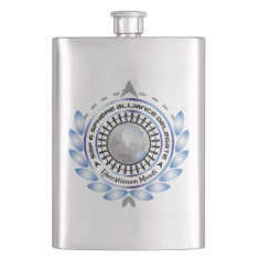 Classic Flask With Logo at Zazzle